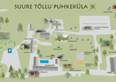 Suure Töllu puhkeküla plaan